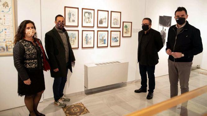 El Palacio Molina acoge la exposición Mástil, el primer poemario de Antonio Oliver