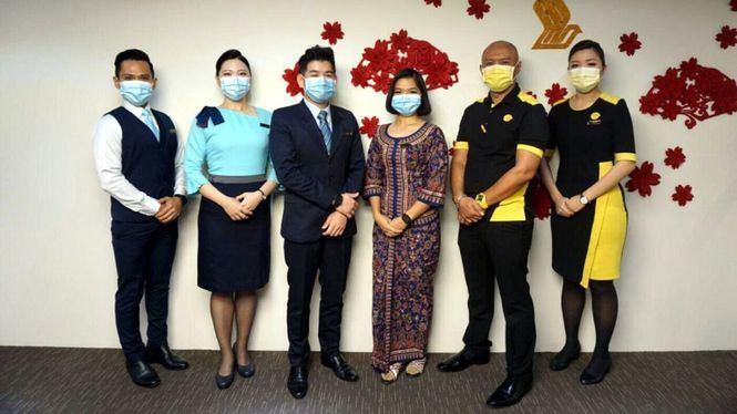 Singapore Airlines opera sus primeros vuelos con toda la tripulación vacunada contra el Covid-19