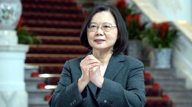 La presidenta de Taiwán ofrece discurso de Año Nuevo lunar