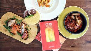 Nuevo menú de Premiata Forneria Ballarò inspirado en las novelas de Andrea Camilleri