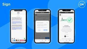 La firma electrónica accesible a través de SMS gracias a SIGN de CM.com