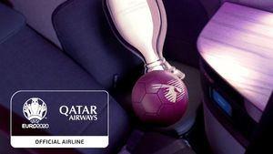 Qatar Airways aerolínea patrocinadora oficial de la UEFA EURO 2020