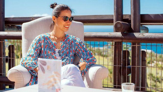 Xuan Lan, la influencer del yoga, desconecta en Abama Resort, Tenerife