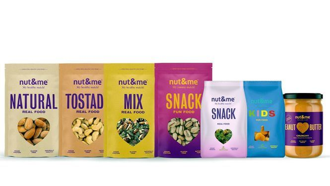 Los snacks saludables de NUT&ME disponibles online
