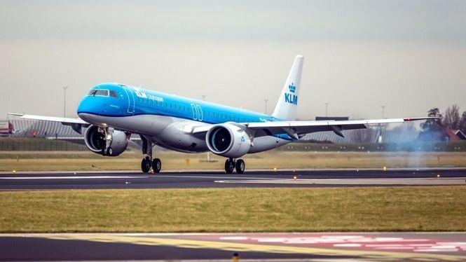 El primer Embraer 195-E2 llega a la flota de KLM Cityhopper