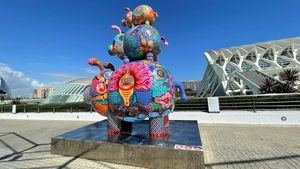 El artista taiwanés Hung Yi exhibe en la Ciudad de las Artes y las Ciencias de Valencia