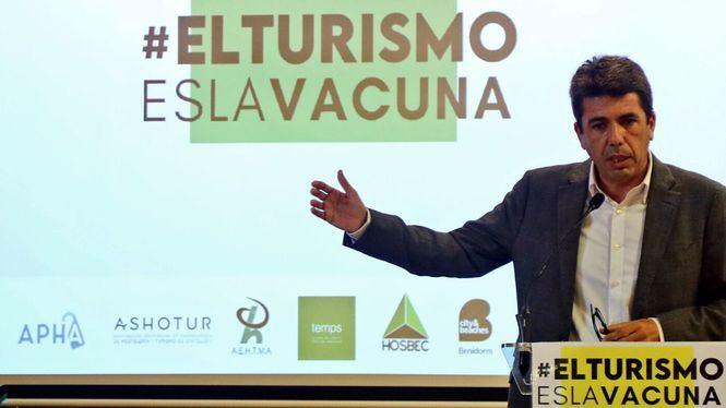 El presidente de la Diputación de Alicante critica el trato discriminatorio a la Costa Blanca