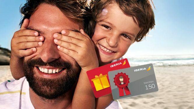Tarjetas regalo de Iberia para celebrar el Día del Padre