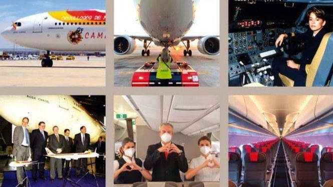 Se celebran 40 años de la llegada a Iberia del primer Airbus