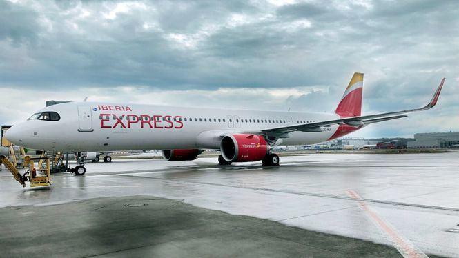 Iberia Express continúa con la renovación de su flota y recibe el cuarto A321neo