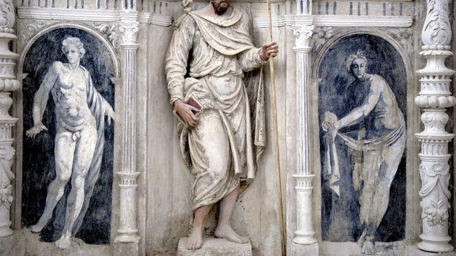 Dónde ver en España los únicos personajes mitológicos desnudos en una catedral europea