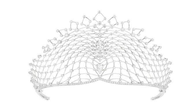 La Tiara Lacis de Chaumet es la joya elegida para la próxima boda imperial Rusa
