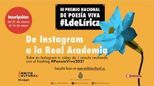 Convocatoria del III Premio Nacional de Poesía Viva LdeLírica