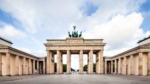 Puerta de Brandenburgo. Berlín