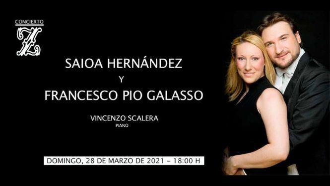 Saioa Hernández y Francesco Pio Galasso: concierto para ensalzar nuestro patrimonio lírico
