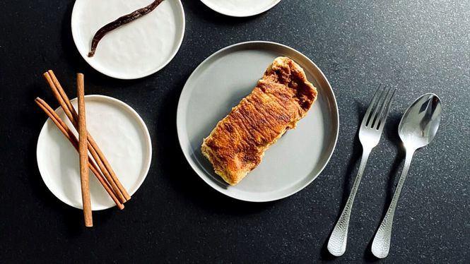 Las torrijas de PAN.DELIRIO son de masa de roscón y horneadas
