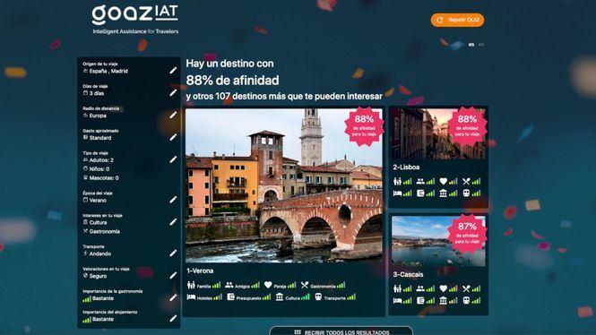 GOAZ primer recomendador de Europa que funciona con Inteligencia Artificial