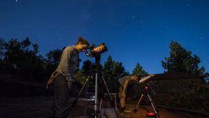 Astroturismo. Foto: Enrique Navarro