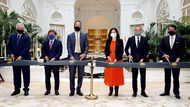 Mandarin Oriental Ritz Madrid abre oficialmente sus puertas