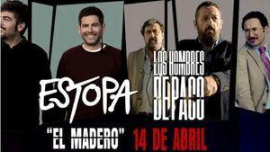 El Madero de Estopa, es la cabecera de la nueva temporada Los hombres de Paco