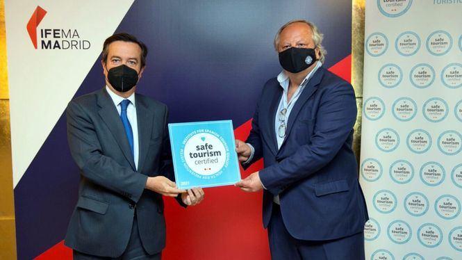 IFEMA MADRID recibe el sello Safe Tourism Certified del ICTE