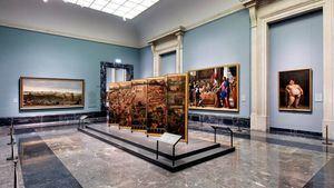 El Museo del Prado presenta el Biombo de la Conquista de México