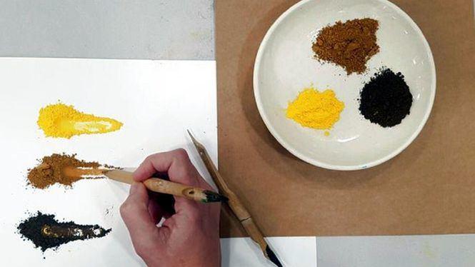 Pintar con olores. Una actividad de El otro Museo