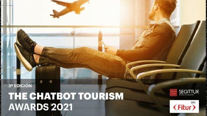 SEGITTUR y FITUR lanzan la tercera edición del concurso The Chatbots Tourism Awards 2021