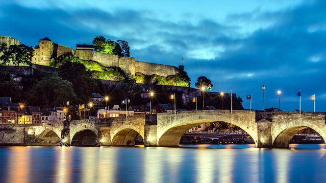 Ciudadela de Namur, imponente y estratégica fortaleza en la capital de Valonia