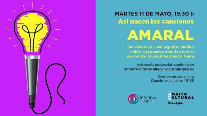 Poesía con Alfonso Armada, música con Amaral y cine con Marta Robles en Ámbito Cultural
