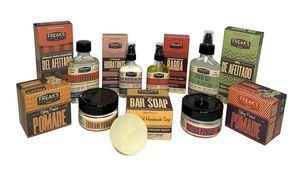 Productos para la barba de inspiración vintage americana