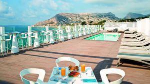Terraza Hotel Bahia Calpe
