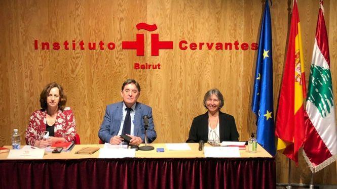 Apoyo al Instituto Cervantes de Beirut afectado por una explosión en 2020 y por la pandemia