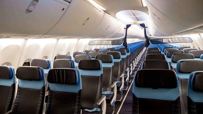 Renovación de las cabinas de 14 Boeing 737-800 de la flota de KLM