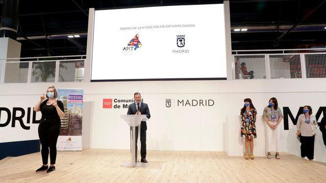 El estand de Madrid acogió el Premio Mejor Visita Guiada y la presentación de Legends