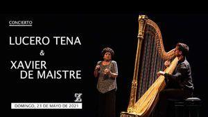 Las castañuelas de Lucero Tena en concierto en el Teatro de la Zarzuela