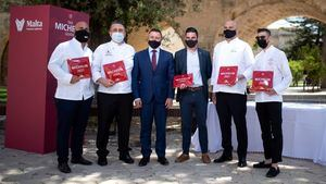 Cinco restaurantes malteses reciben estrellas Michelin