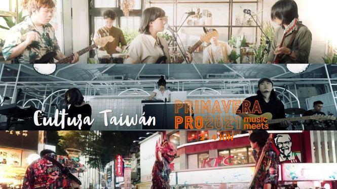 Taiwán en la edición virtual del Festival Primavera Pro en 2021