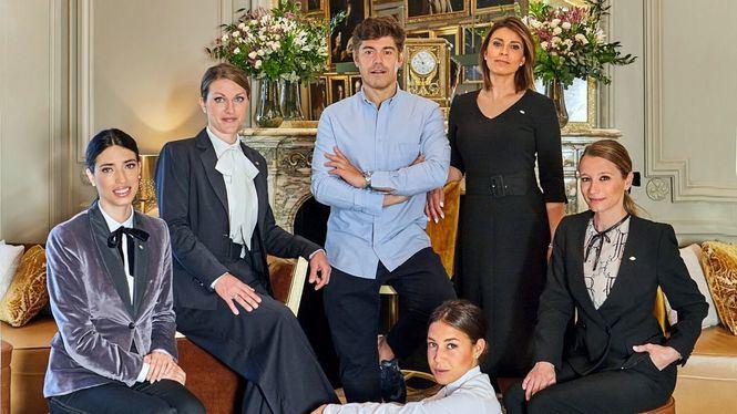 El diseñador Jorge Vázquez ha creado cuatro looks para Madarin Oriental Ritz Madrid