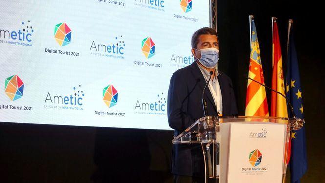El presidente de la Diputación de Alicante participa en la inauguración del Foro Digital Tourist de Benidorm
