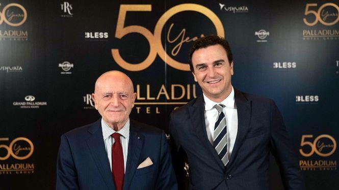 Palladium Hotel Group cumplió 50 años en 2020 y quiere recuperar las celebraciones aplazadas