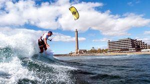 Kitesurf  en Maspalomas