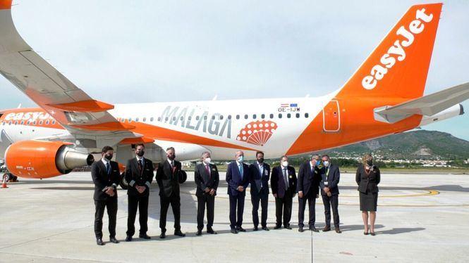 easyJet ofrecerá 19 rutas internacionales hacia Andalucía