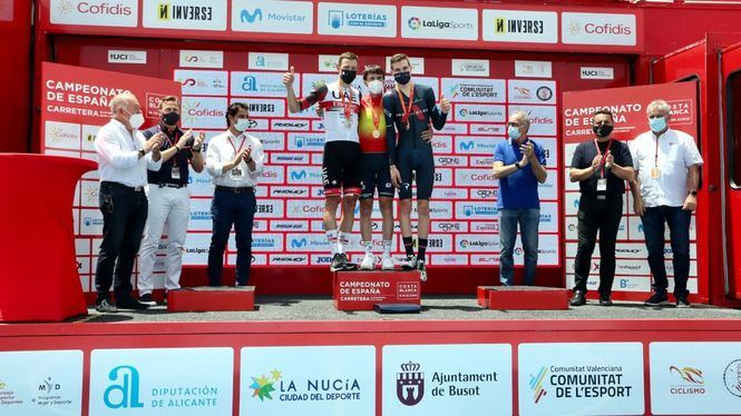 Busot acogió la primera jornada del Campeonato de España de Ciclismo Élite-Sub23