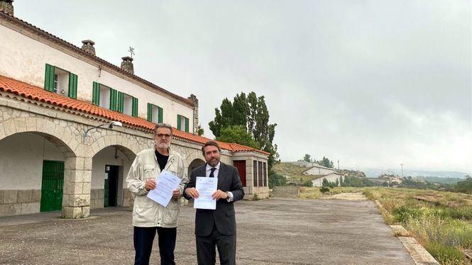 Cultura y arte en la histórica estación de tren de Bustarviejo