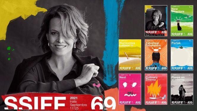 Sigourney Weaver protagoniza el cartel oficial del Festival de San Sebastián
