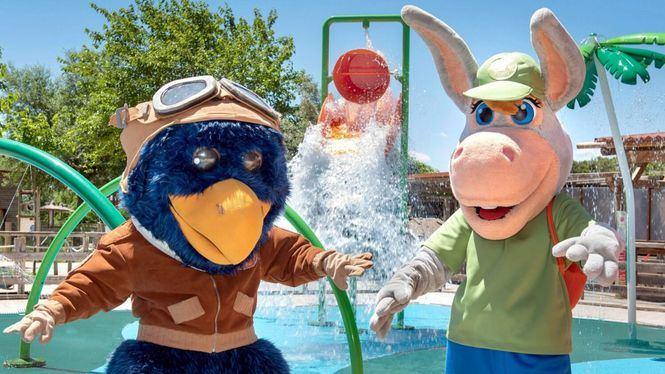 Roko Urtsua y Splash las dos nuevas atracciones acuáticas del Parque Sendaviva