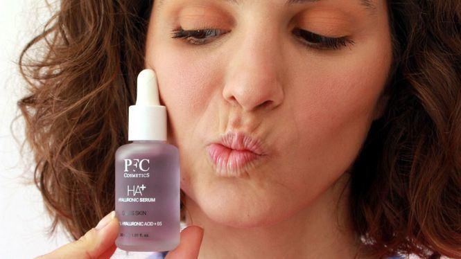 Serum de hialurónico de PFC Cosmetics diferente a otros por su efecto Glass Skin