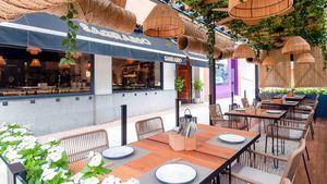 La nueva terraza del restaurante Sagrario Tradición
