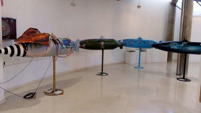 La exposición Peral S-15 ahora en el Centro Cultural Ramón Alonso Luzzy de Cartagena
